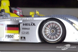 Rinaldo Capello in the Infineon Audi R8 #1