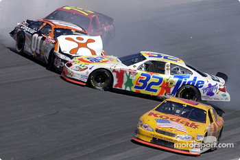 Ricky Craven was caught up in a early accident