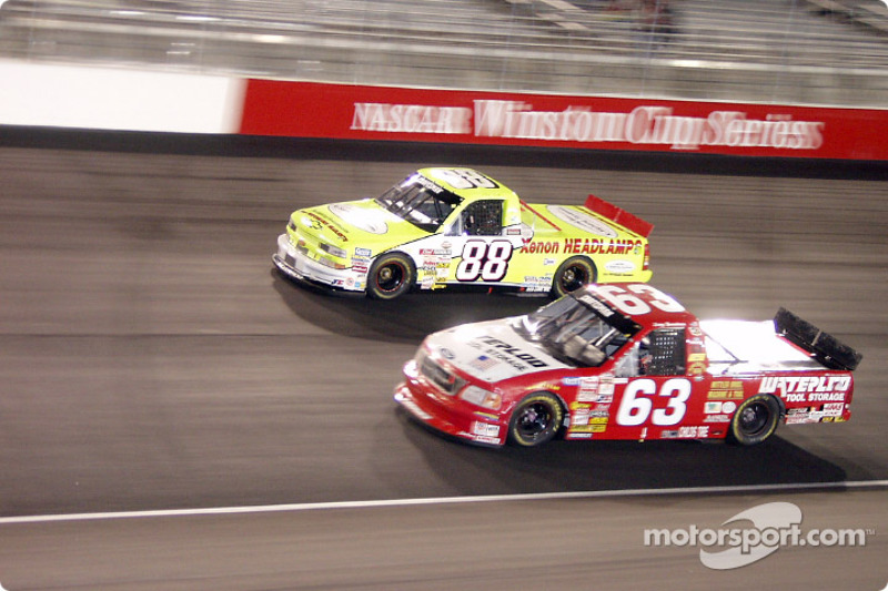 Larry Gunselman and Matt Crafton
