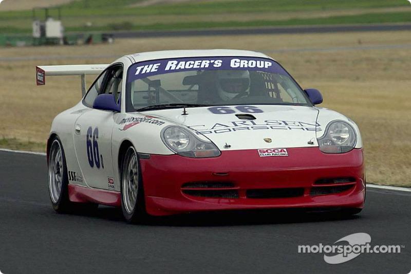 Class winner: The Racer's Group / Motorsport.com Porsche GT3 Cup of Dan Jones and Kevin Buckler