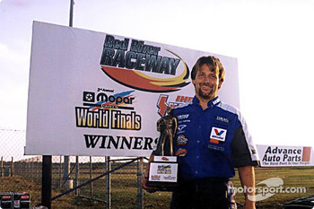 2001 IHRA Top Fuel Harley Champion Doug Vancil