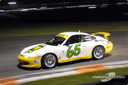 Shelby Wellman and David Haskell drove the #65 Porsche 911 to victory in the Grand-Am Cup finale