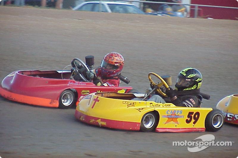 Briggs Junior Sportsman-1 Lite 1-Jake 'the Snake' Crum 59-Dustin Dunn 09-Scotty Glover, Jr.