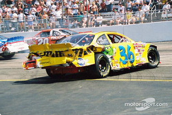 Ken Schrader in trouble