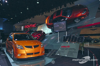 The new 2002 Pontiac Vibe, Grand Am and Sunfire HO 2.4