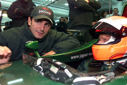 Pedro de la Rosa and Niki Lauda