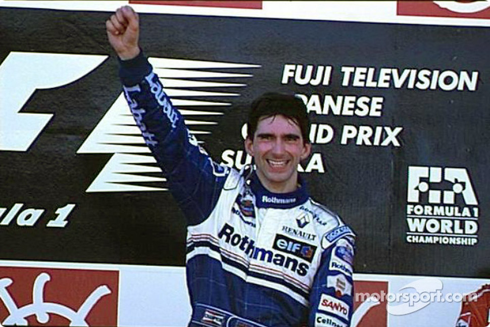 World Champion Damon Hill