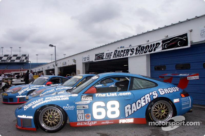 Larry Schumacher's Porsche ride