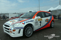 WRC car at Ford Technology Tour