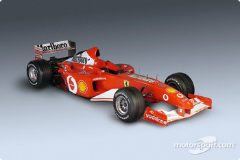The new Ferrari F2002