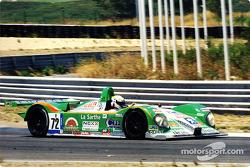 Laurent Redon kept the pressure on the Audi