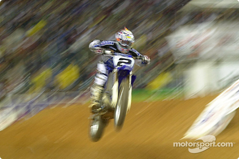 Jeremy McGrath was able to obtain his best finish in 2002 by cinching 3rd