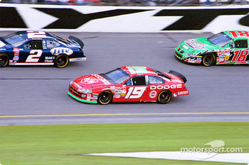 Rusty Wallace, Jeremy Mayfield and Bobby Labonte