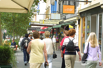 Downtown Melbourne, shopping area