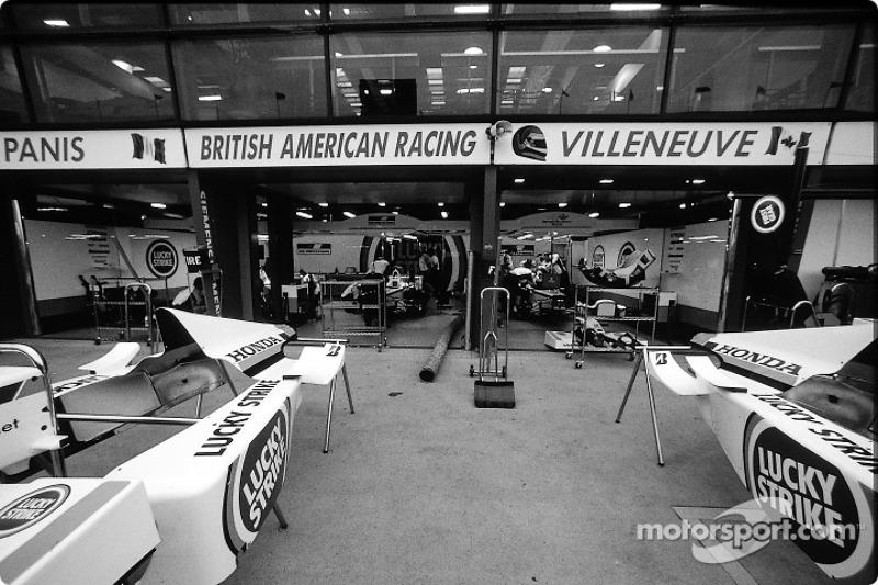 BAR garage area