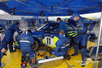 Petter Solberg and team Subaru