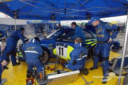 Petter Solberg and team Subaru