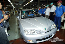 Visit at Proton car factory in Shah Alam: Felipe Massa