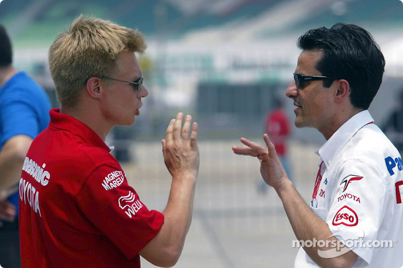 Mika Salo and Ange Pasquali