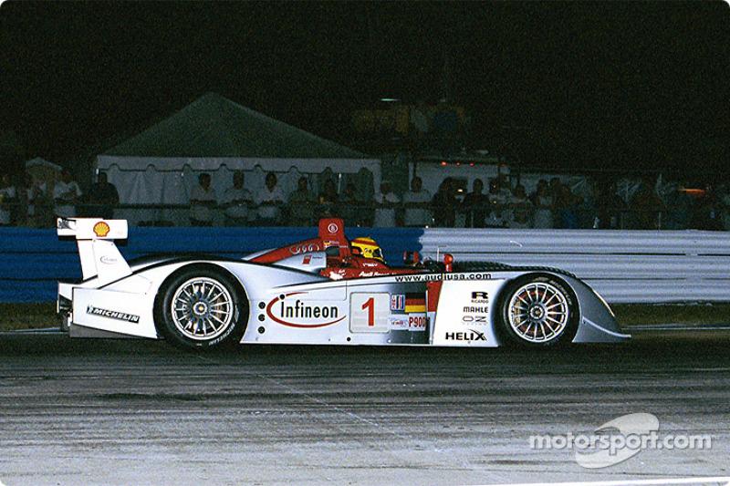 Frank Biela in the Infineon Audi R8 #1