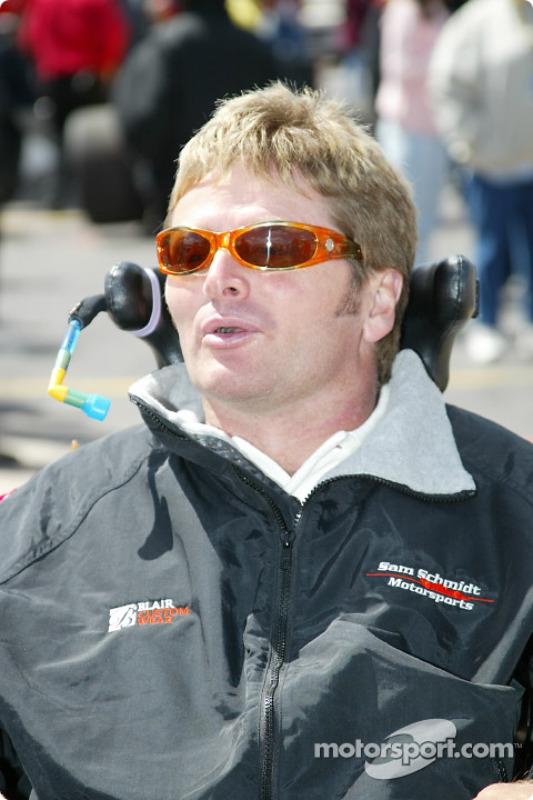 Team owner Sam Schmidt