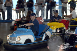 Visit at Hopi Hari´s Park: Nick Heidfeld and Felipe Massa