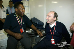 The Great Pelé and Frank Williams