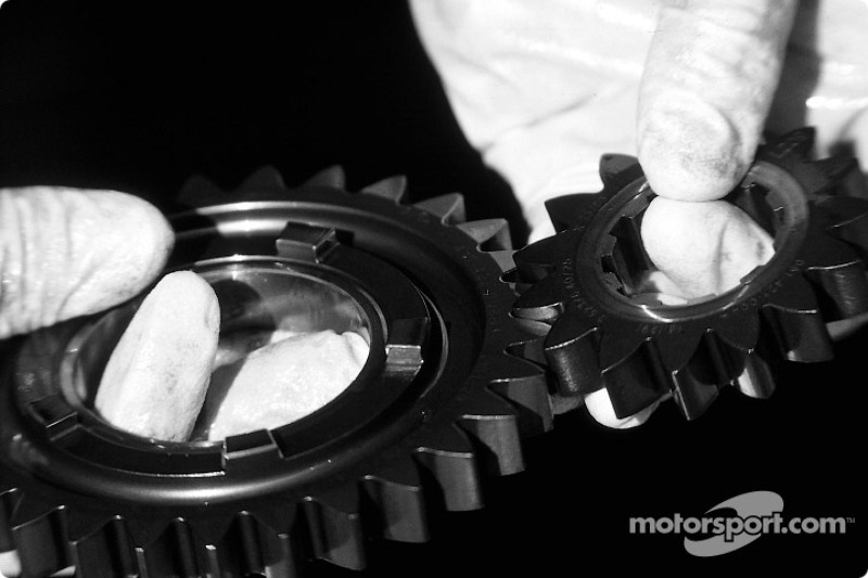 Gearbox cogs