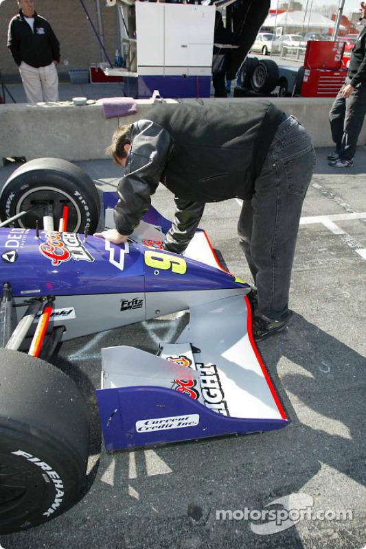 Hemelgarn Racing crew member