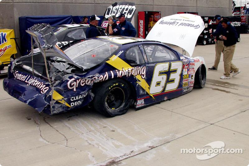 Shane Hall's wreck
