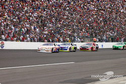 Ken Schrader and Jimmie Johnson
