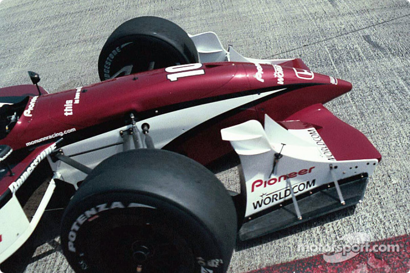 Detail of a front wing