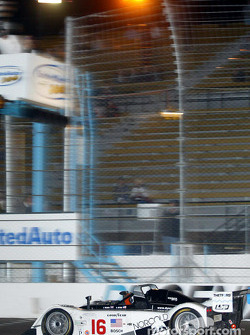 James Weaver takes the checkered flag winning the UnitedAuto 200