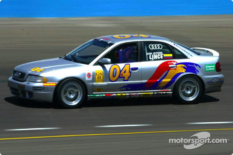 The #04 Audi S4 of Istook/Aines Motorsports won the Grand Sport II pole during qualifying