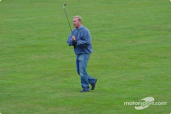A game of golf inside Le Mans with Team Panoz: Bill Auberlen