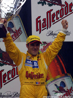 Race winner Laurent Aiello