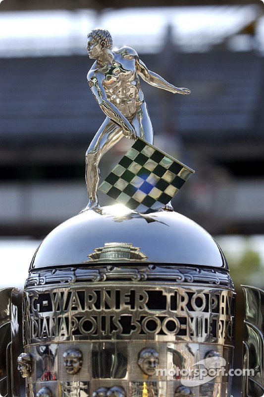 The famous Borg-Warner trophy
