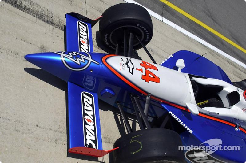 The Blair Racing Dallara-Chevrolet