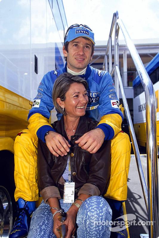 Jarno Trulli and mom
