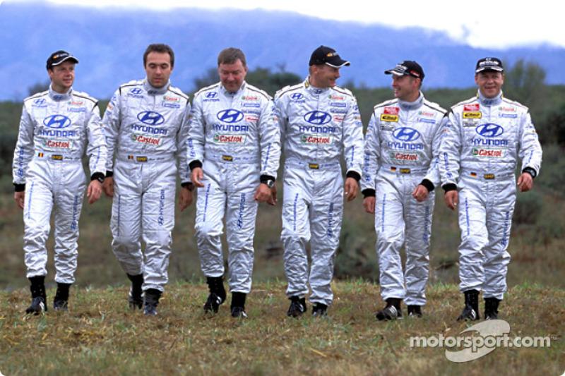 Hyundai World Rally Team drivers