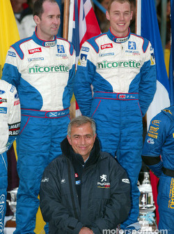 Race winners: Richard Burns and co-driver Robert Reid