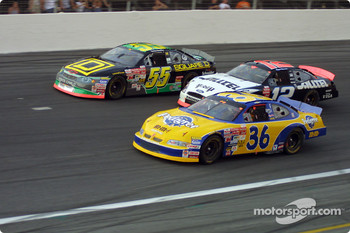Bobby Hamilton, Ken Schrader and Ryan Newman