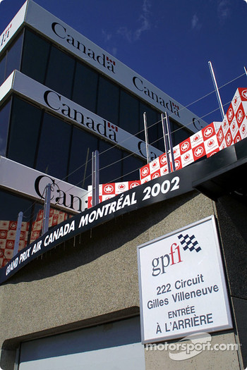 Circuit Gilles-Villeneuve control tower