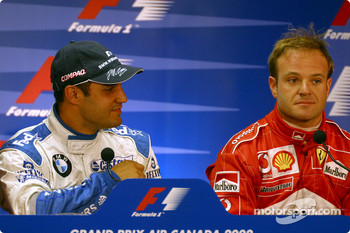 FIA Saturday press conference: Juan Pablo Montoya and Rubens Barrichello