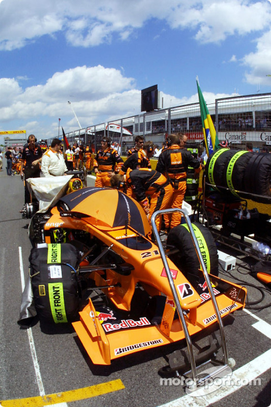 On the starting grid
