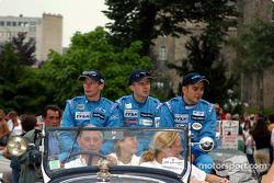 Jonathan Cochet, Benoit Treluyer and Jean-Philippe Belloc