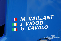 The legendary Michel Vaillant was also in the race