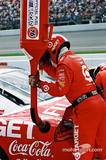 Pitstop for Jimmy Spencer
