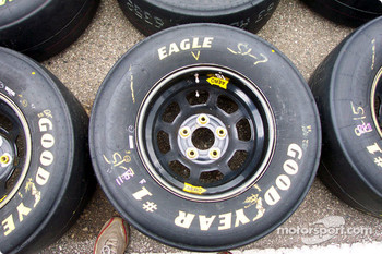 Bill Elliott's Good Year tires