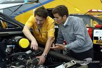 DTM Fotos - Timo Scheider, OPC Team Holzer, Opel Astra V8 Coupé 2002